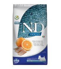 N&D Ocean Dog GF Adult Mini Herring & Orange 2,5 kg