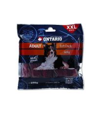 Ontario Snack Duck Jerky - sušené kačacie mäso pre psov 500 g
