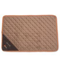 Scruffs Thermal Mat Termálne podložka čokoládová - veľkosť M, 90x60 cm