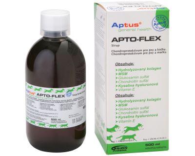 Aptus Apto-Flex Vet Sirup - pre regeneráciu a výživu pohybového aparátu psov a mačiek, 500 ml