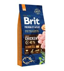 Brit Premium by Nature Dog Senior S+M 15 kg