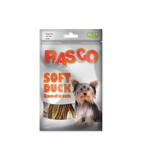 Pochoutka RASCO Dog sendviče z kachního masa