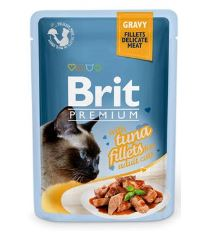 Brit Premium Cat D Fillets in Gravy With Tuna 85g