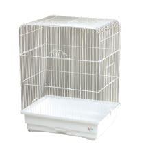 Klietka BIRD JEWEL K2 biela 45,5 x 33,5 x 59,5 cm