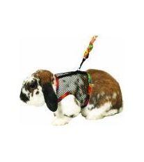 Postroj králik nylon s vod.celotělový Karlie veľ. L