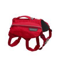 Ruffwear batoh pro psy, Singletrak Pack, červený, velikost L/XL