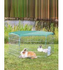 Sieť k ohrádke pre králiky zelená / oko 1x1cm 1ks