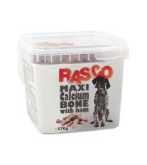 Pochoutka RASCO kosti kalciové se šunkou 570 g