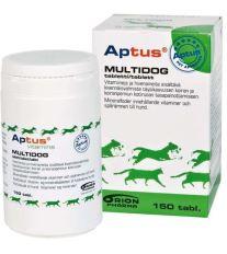Aptus Multidog - energetický doplnok a vitamíny pre psov a šteňatá, 150 tabliet