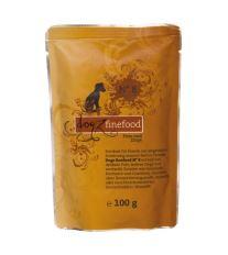 Dogz Finefood No.8 Kapsička - morka & koza pre psov 100 g