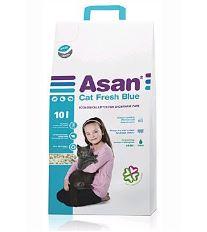 Asan Cat Fresh blue ekologická podstielka 10 l