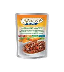 Kapsička STUZZY Dog krůtí + mrkev 100 g
