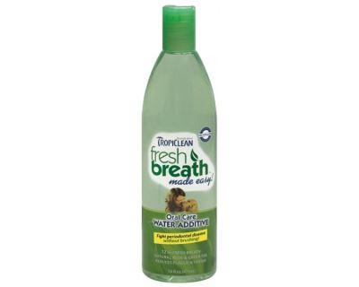 Tropiclean Oral Care Water Additive Roztok do vody pre zdravé zuby a svieži dych pre psov