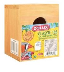 Budka hnízdící pro ptáky 100x100x125mm Zolux