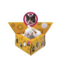 Hračka MAGIC CAT myšky v trojúhelníku 5 cm (24ks)