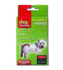 Dog Fantasy nohavičky hárací béžové - veľkosť XL