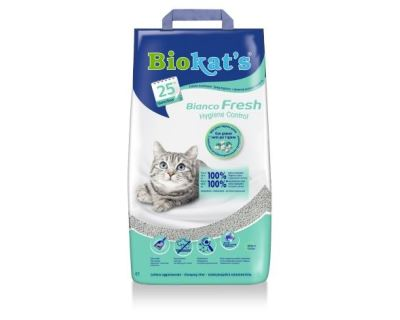 Gimpet Biokats Bianco Fresh podstielka hrudkujúce s vôňou