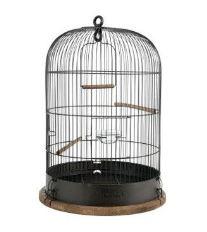 Klec ptáci RETRO LISETTE kov/dřevo 34x34x47cm Zolux