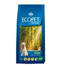 Ecopet Natural Adult Fish Maxi 12kg+2kg ZDARMA