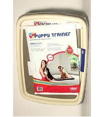 Savic Toaleta & podložky Puppy trainer L - sada pre tréning šteniat, 60 x 48 cm