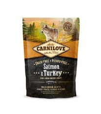 Carnilove Dog Salmon & Turkey for LB Adult NEW