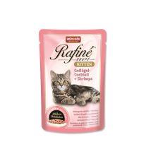 Animonda Rafiné Soupe Kitten Kapsička - hydina & krevety pre mačiatka 100 g
