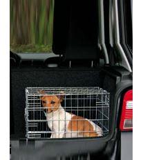 Klietka do auta pre psa kovová 62x54x48cm 2x dvere TR