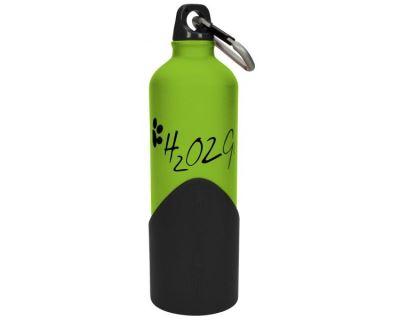 H2o2go Cestovné fľaša na vodu zelená 750 ml
