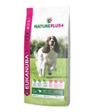 EUKANUBA Nature Plus+ Adult Medium Breed Rich in freshly frozen Lamb