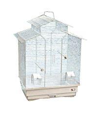 Klietka BIRD JEWEL Ela biela 50,5 x 38,5 x 63,5 cm