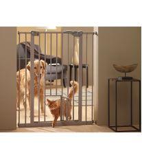 Dog Barrier Zábrana dverové vnútorné s integrovanými dvierkami - výška 107 cm