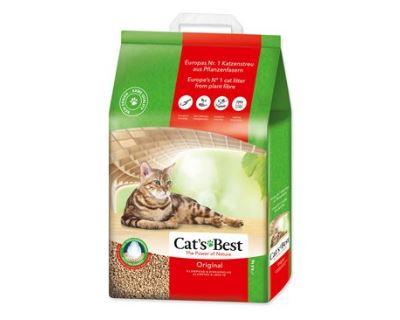 Cats Best ÖkoPlus hrudkujúce podstielka 20 l
