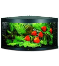 Juwel Trigon 350 akvárium set rohový čierny 123x87x65 cm, objem 350 l
