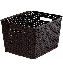 Curver úložný box, MY STYLE, hnědý, velikost L