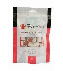 Perrito Chicken & Pollock Sushi - kura & treska maškrta pre psov 100 g
