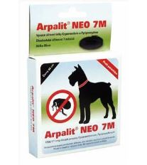 Arpalit Neo 7M Antiparazitný obojok pre psov čierny, 66 cm