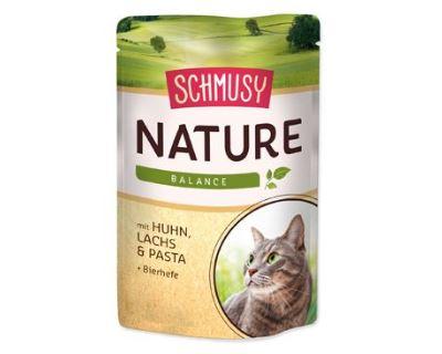 Schmusy Nature Menu kapsička - kura & losos 100 g