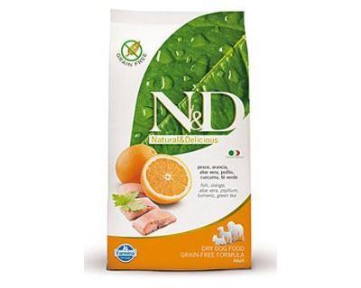 N&D Grain Free Dog Adult Mini Fish & Orange