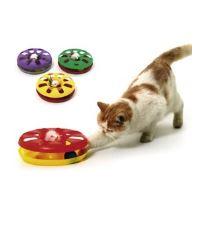 Hračka mačka Tanier plast obojstr. s loptičkou 24cm KAR