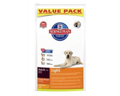 Hill's Science Plan Canine Dry Adult Light Large