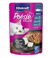Vitakraft Cat Poésie DéliSauce kapsa treska 85g
