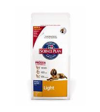 Hill 'Science Plan Canine Dry Senior Light pre psov od 7 rokov 12 kg