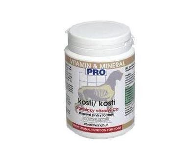 Fitmin Kosti - doplnok pre prevenciu nedostatku vápnika u šteniat a gravidných súk v prášku