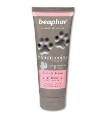 Beaphar šampón bez parabénov s hodvábnymi proteínmi pre mačky a mačiatka 250 ml
