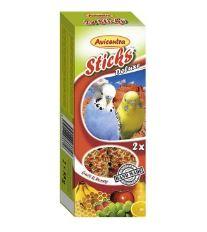 Avicentra tyčinky andulka - ovocie + med 2ks