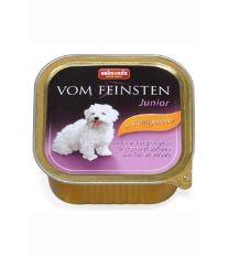 Animonda Vom Feinsten Junior Paštéta - hydinové & morčacie srdce pre šteňatá 150 g