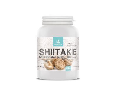 Allnature Shiitake kapsle 100 kps.
