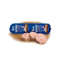 Salám BRIT Premium Dog Sausage Chicken & White fish