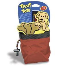 Canine Hardware sáček na pamlsky 0,5 l - červená