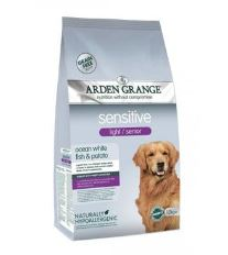 Arden Grange Dog Adult Light/Senior Sensitive  12kg